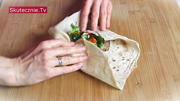 Najprostsze domowe kebaby (w cienkim lawaszu)