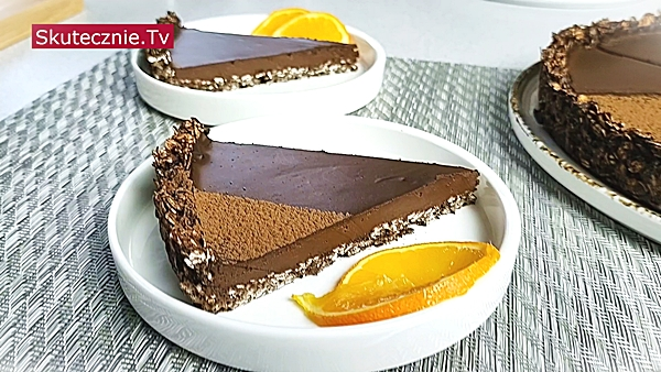 Tarta czekoladowa z pomarańczą
