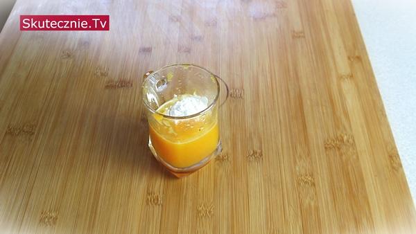 Orientalny kurczak w sosie pomarańczowym